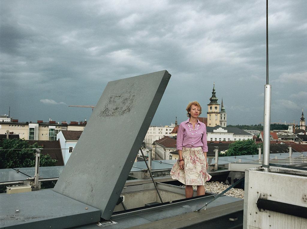 Stella Rollig director, »Lentos« Museum of Modern Art, Linz (AT), 06/07