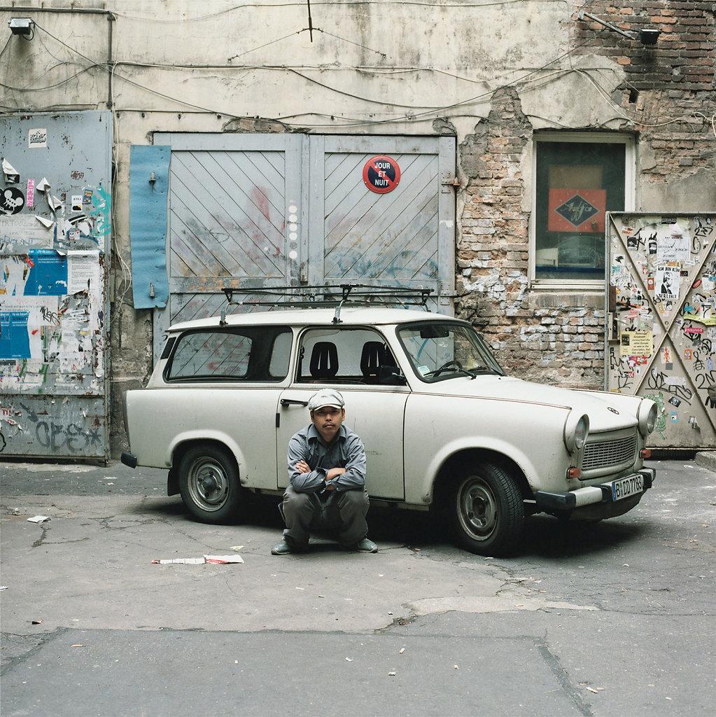 Kaihatsu Yoshiaki artist, Haus Schwarzenberg, Berlin (DE), 07/05