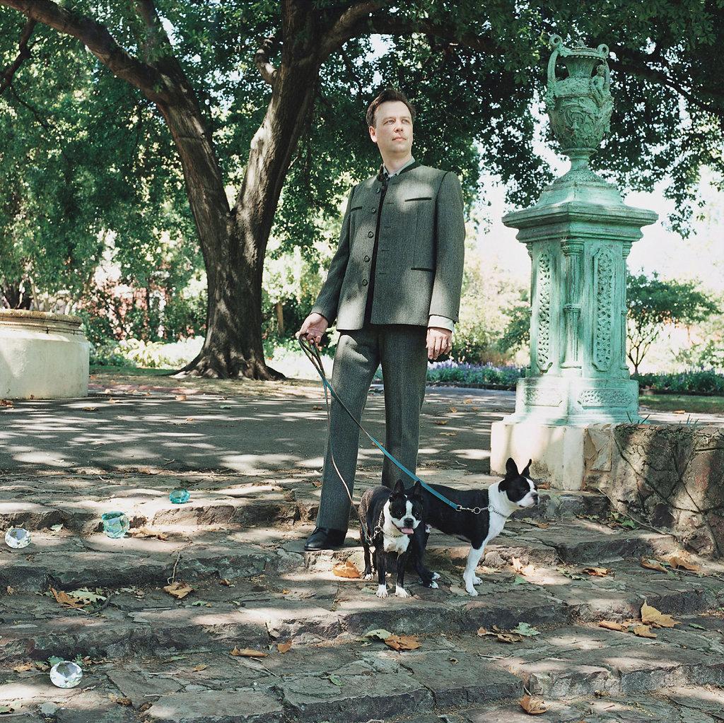 William Eicholtz, sculptor, Victoria Gardens, Melbourne (AU), 01/05