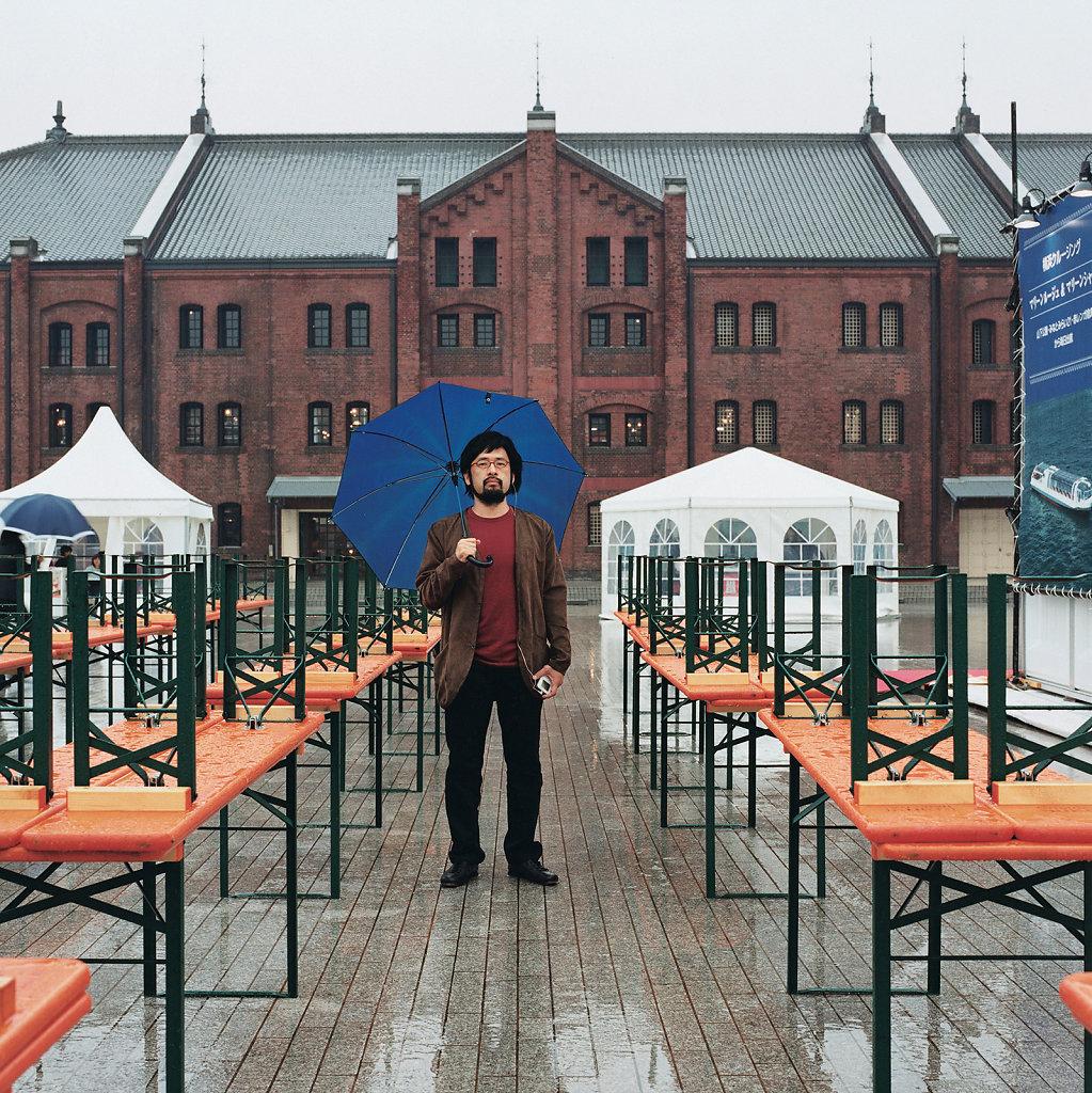 Masafumi Fukagawa, curator, »Aka Renga Soko« Red Brick Warehouse, Yokohama (JP), 10/04