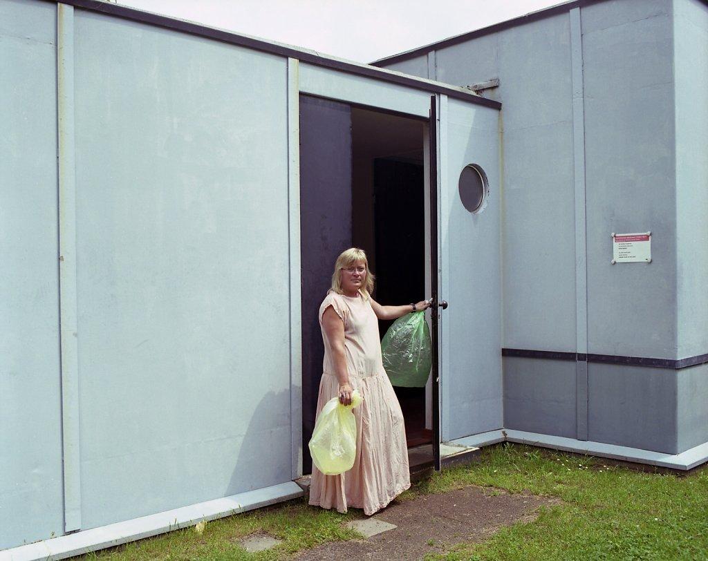 Jutta Stein, online-Redakteurin, Stahlhaus, Dessau, 06/06