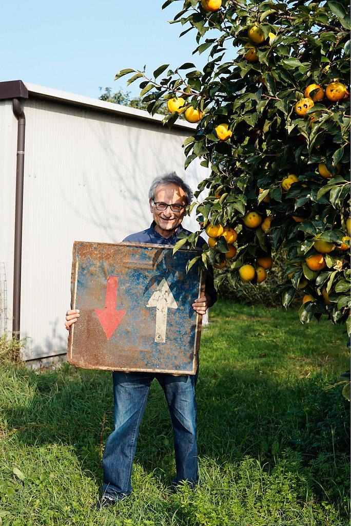 Guido Guidi, photographer, Ronta (IT), 10/14